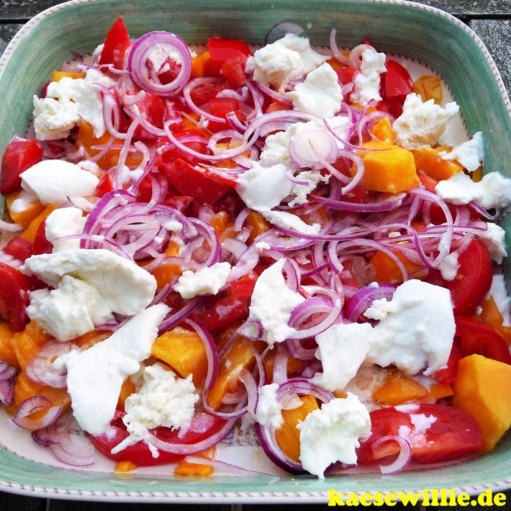 Ensalada catalina (Tomaten mit Mango)