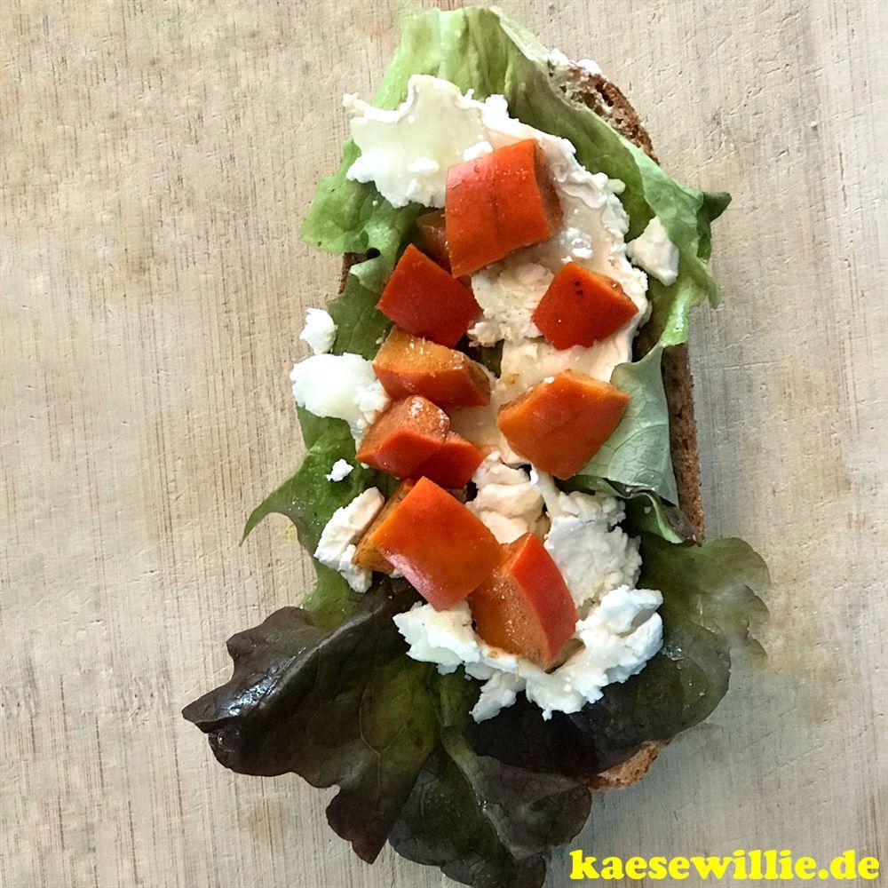 Himmlisches Ziegenkäse-Sandwich