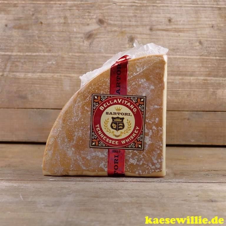 KäseWillie:Produkt-Bella Vitano-Tennessee Whiskeykäse,USA